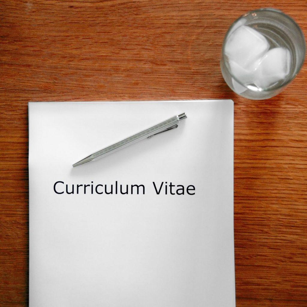 Curriculum vitae 6 règles de base